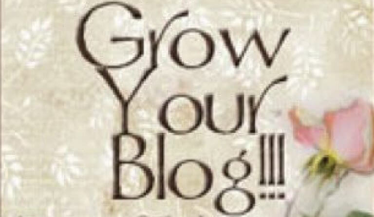 Time for the Grow Your Blog Party!