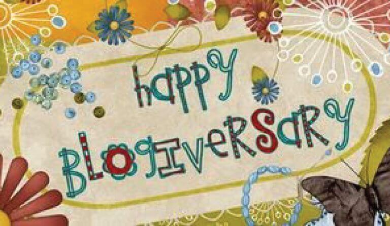 Happy Blogiversary!
