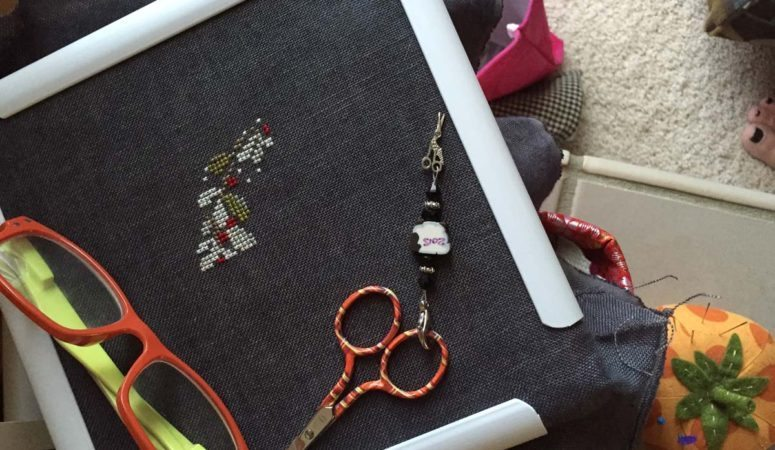 A little stitching…