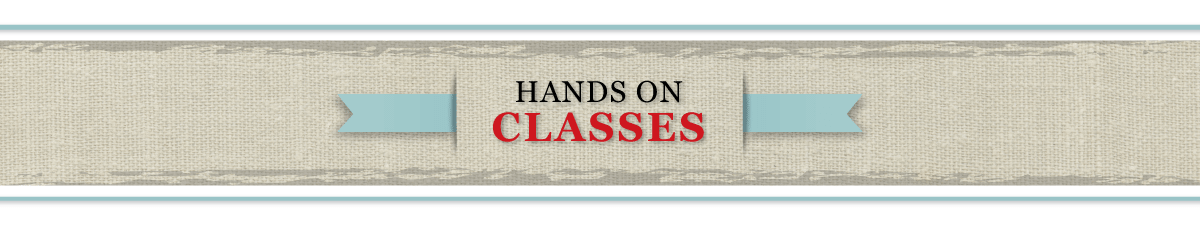Have Cathy Habermann of Hands On Design Teach at Your Shop!