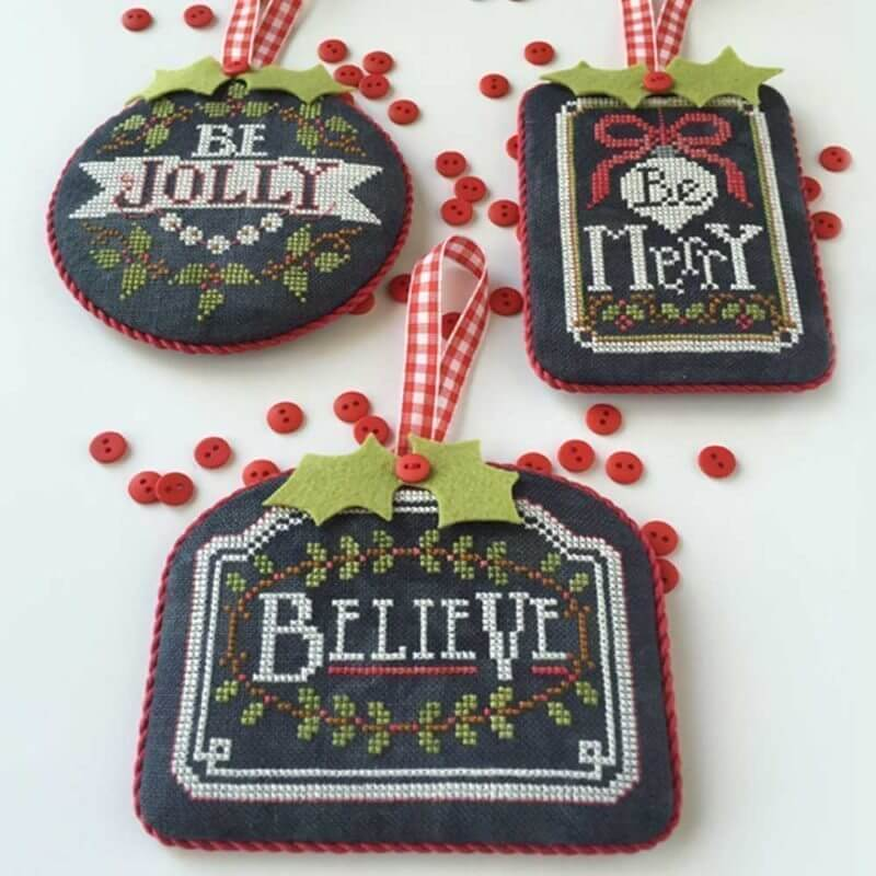 Chalkboard Ornaments Christmas PT 1 - Hands On Design