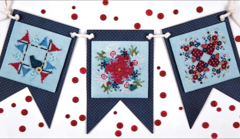 Whimsy Pennant Banner Tutorial