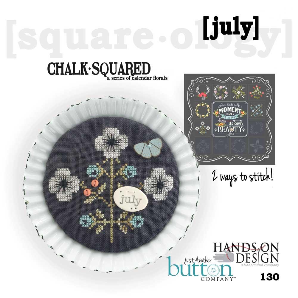 Chalk Squared: July - Hands On Design
