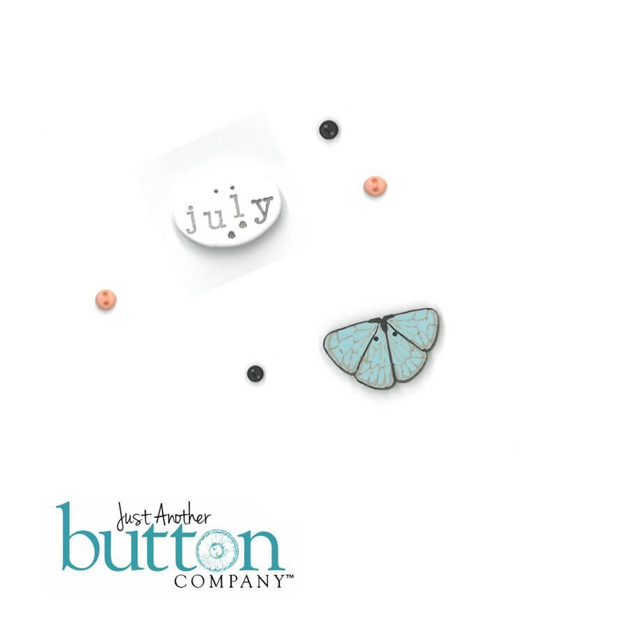 Chalk Squared July Button Embellishment Pack - Hands On Design