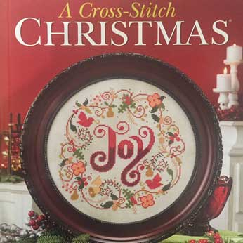 Craftways: A Cross-Stitch Christmas December 2015 Issue – Pinecones & Ribbon Table Set