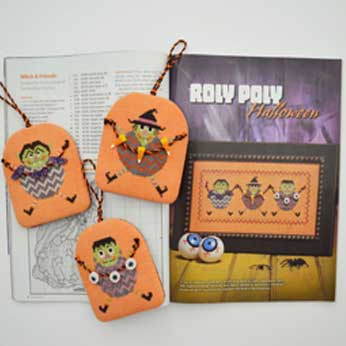 Just Cross Stitch Magazine: 2013 Halloween Issue – Roly Poly Halloween