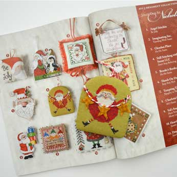 Just Cross Stitch Magazine: 2013 Ornament Issue – Roly Poly Nick