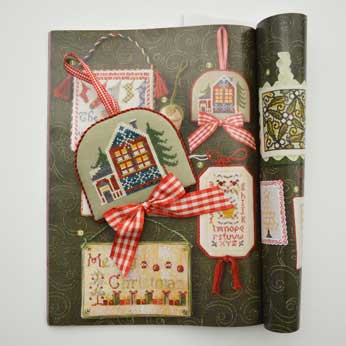 Just Cross Stitch Magazine: 2014 Ornament Issue – Snowflake House