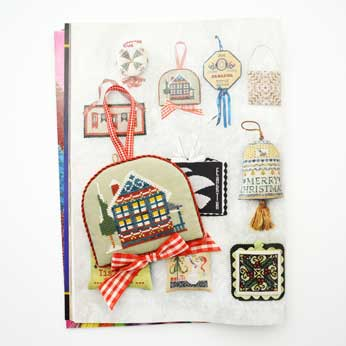 Just Cross Stitch Magazine: August 2014 Issue – Garland House