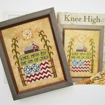 Just Cross Stitch Magazine: August 2015 Issue – Knee High