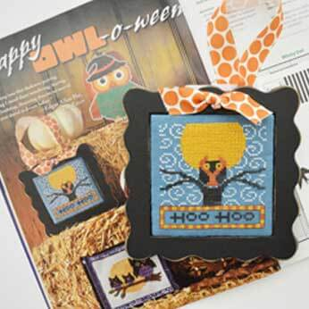 Just Cross Stitch Magazine: 2014 Halloween Issue – Hoo Hoo