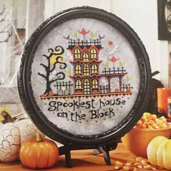 Keepsake Calendar: Cross Stitch Calendar 2016 – Spookiest House on the Block