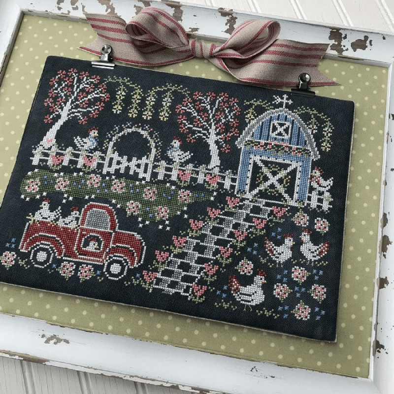 hands on design needlework and cross stitch designs by