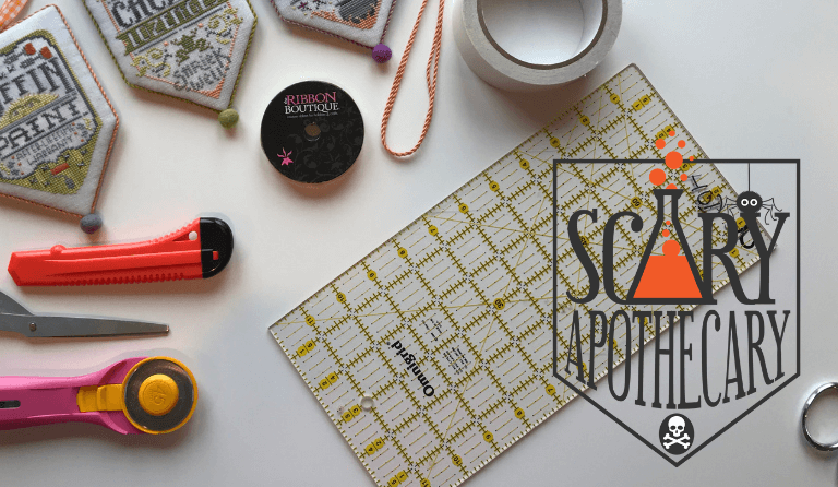 SCARY APOTHECARY – FINISHING TEMPLATE