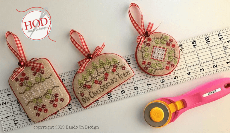 CRANBERRY CHRISTMAS – FINISHING TEMPLATE