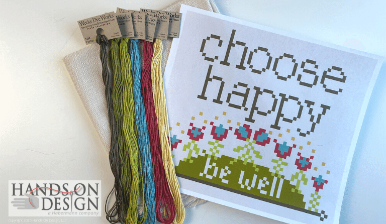 #BEWELLANDSTITCH – CHOOSE HAPPY